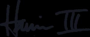 Harris-III-Signature